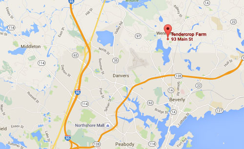 Get an interactive map for Tendercrop at Wenham, MA